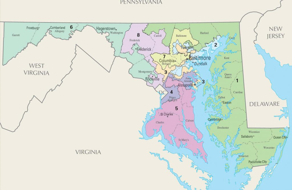 Maryland Congressional Districts